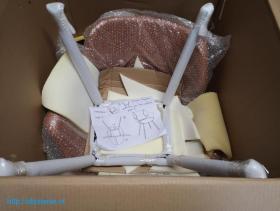 Винтажные кожаные стулья для столовой