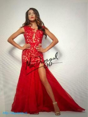 Gala jurk van MAC DUGGAL maat 38-40